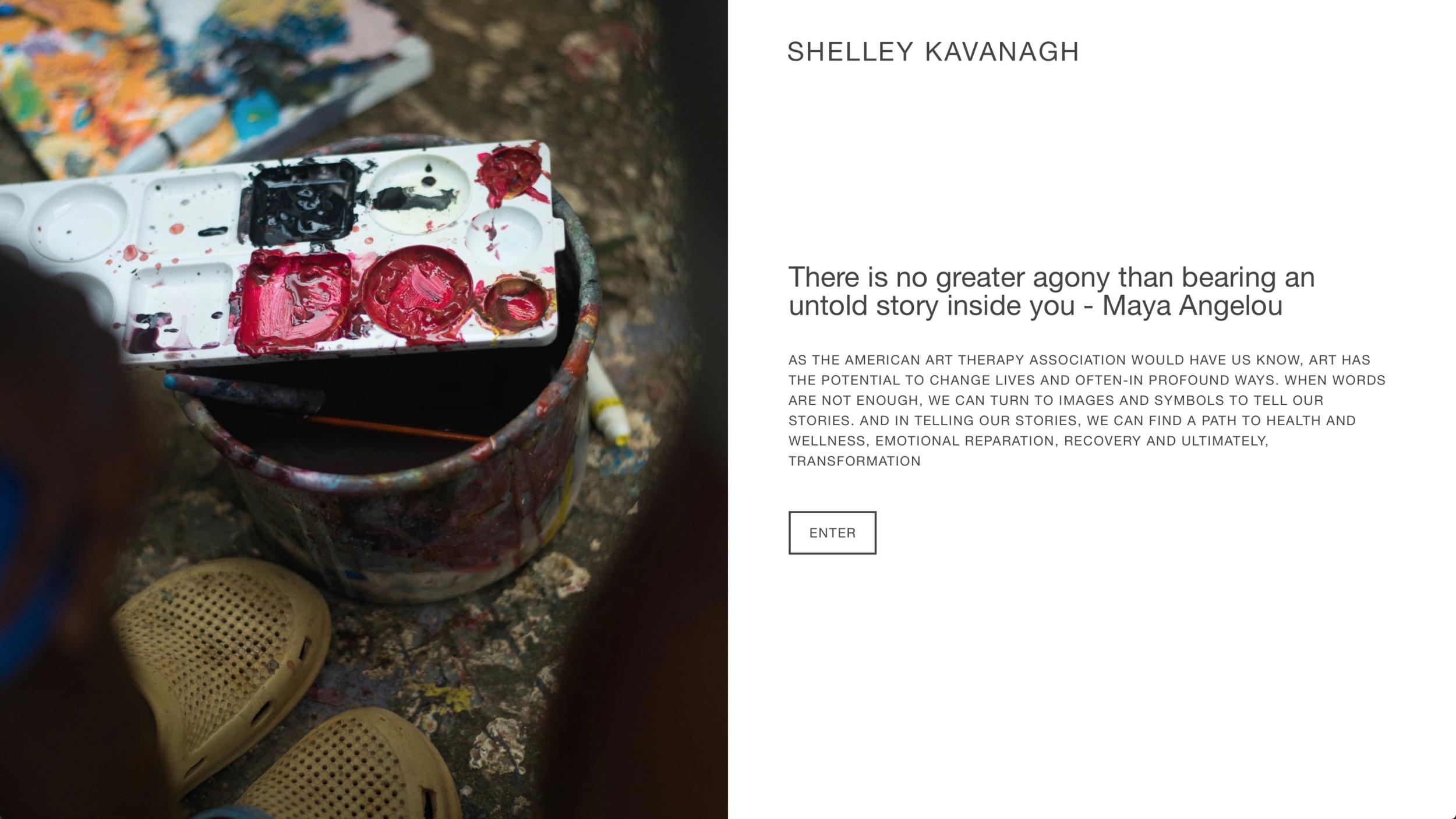 Shelley Kavanagh Art Therapist (www.shelleykavanagh.com)