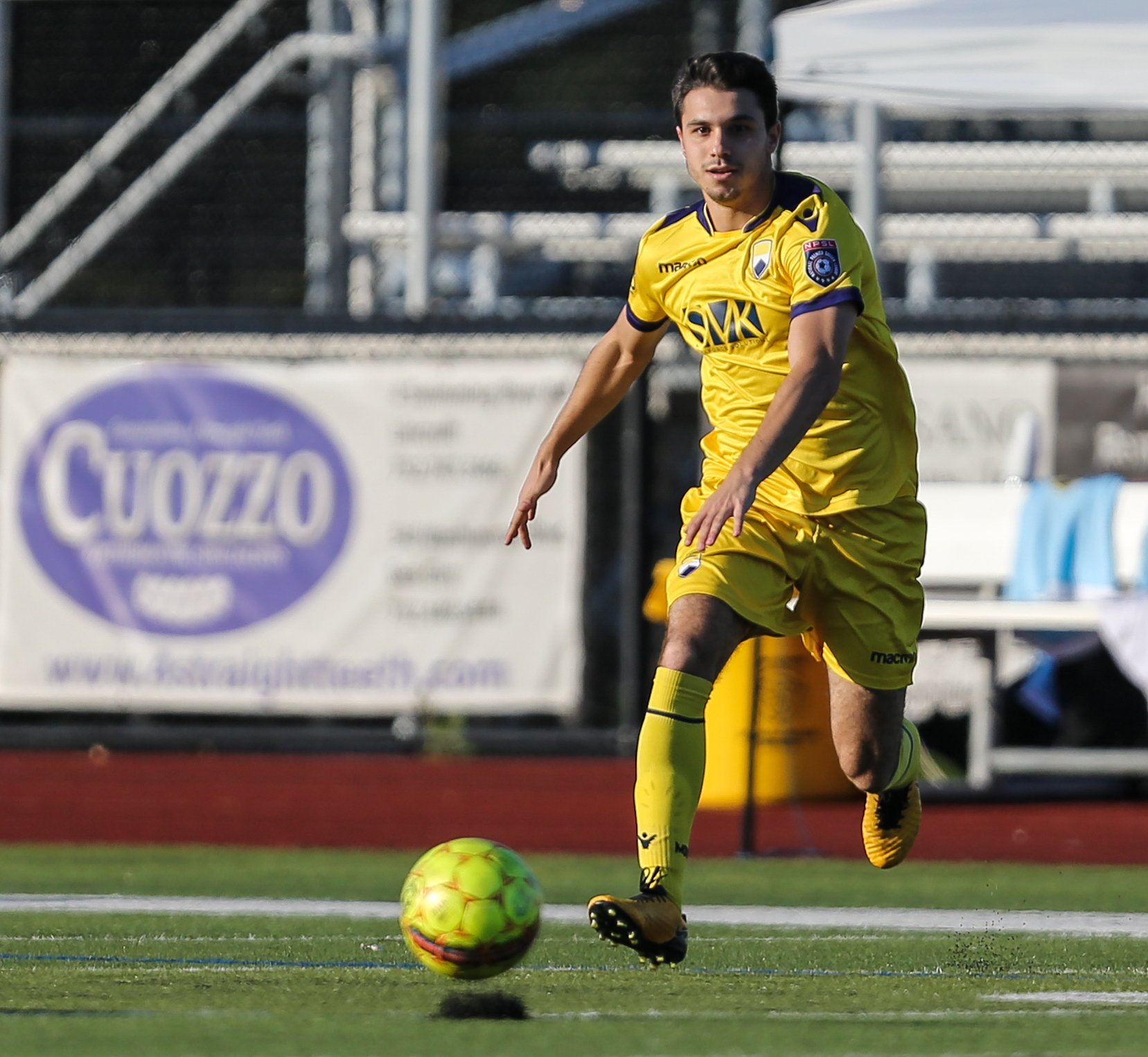 Kevin Kappock during his debut against West Chester United SC