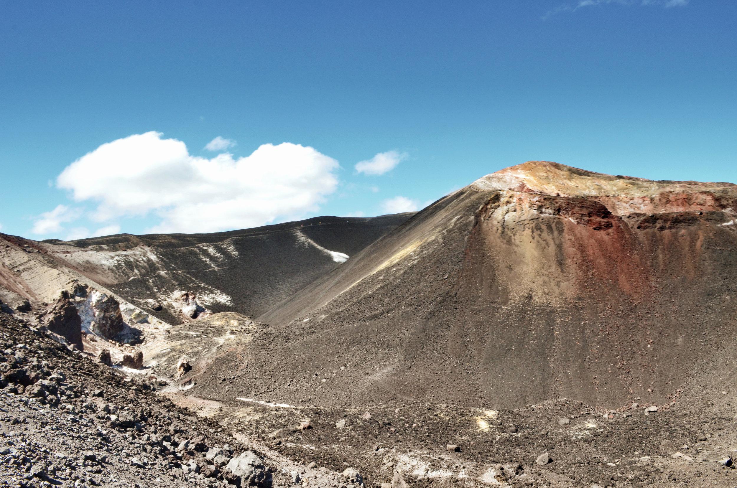 The hike up Cerro Negro