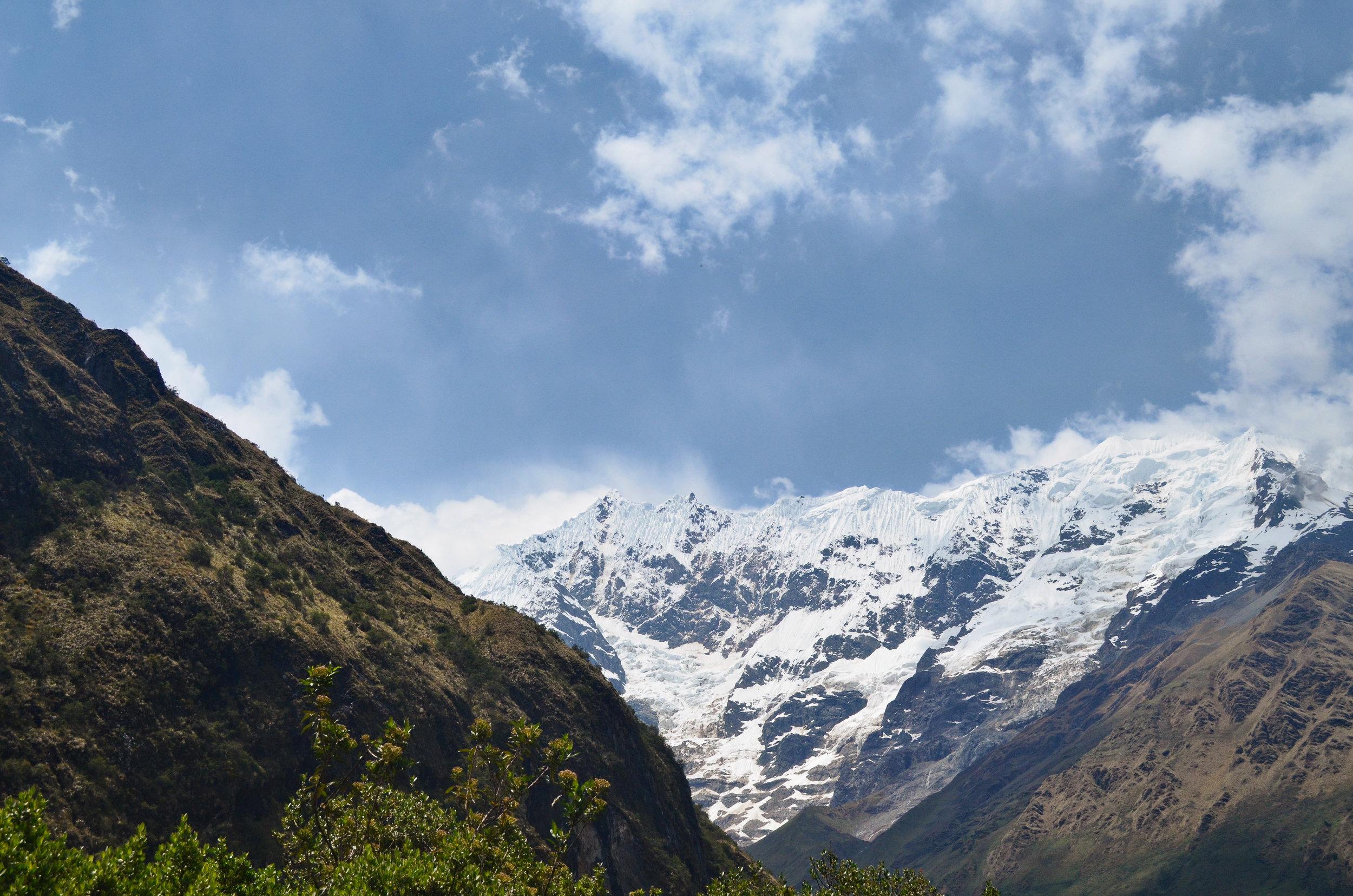 Epic views from the Salkantay trek