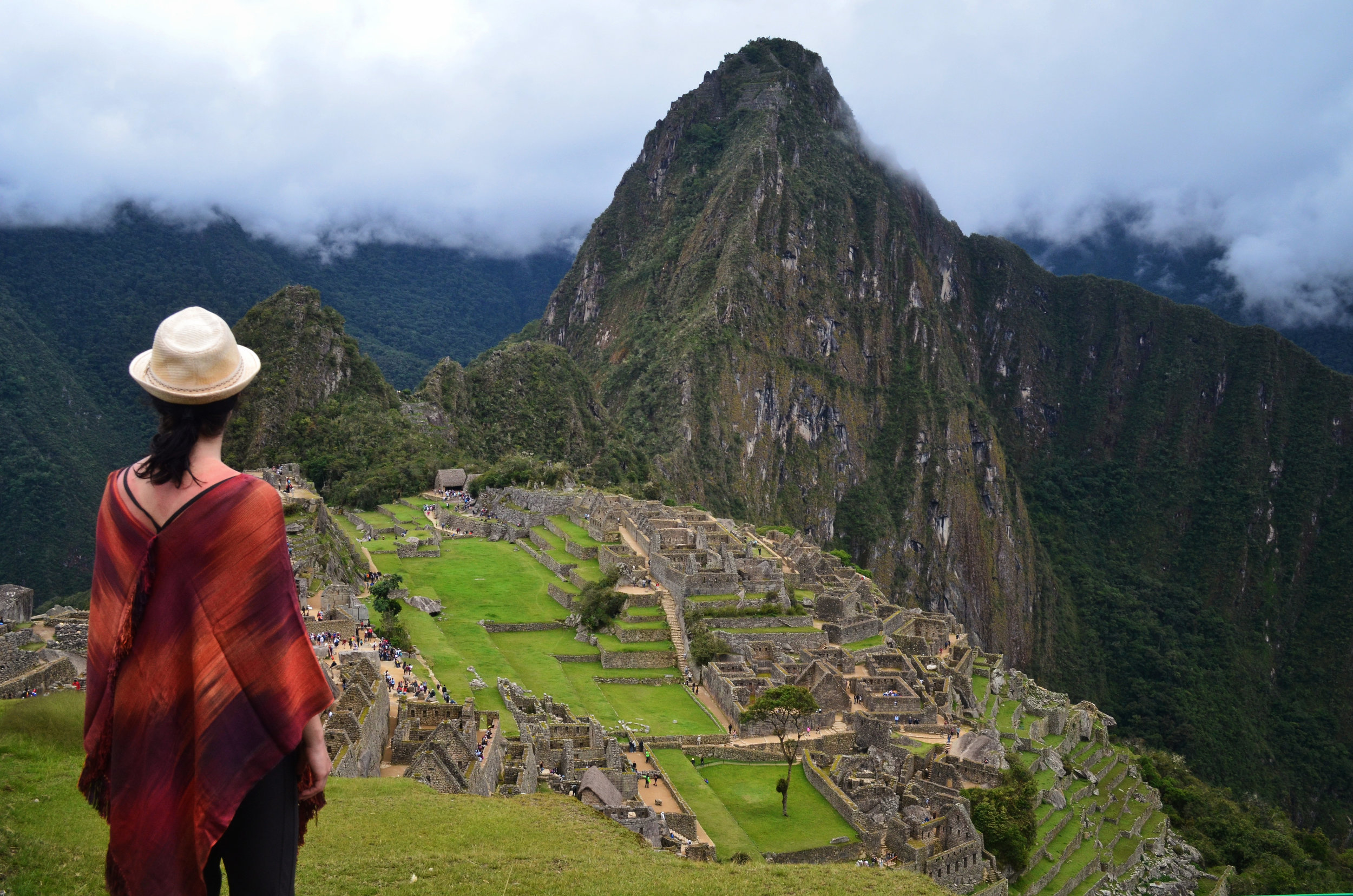 The Inca Citadel, Machu Picchu