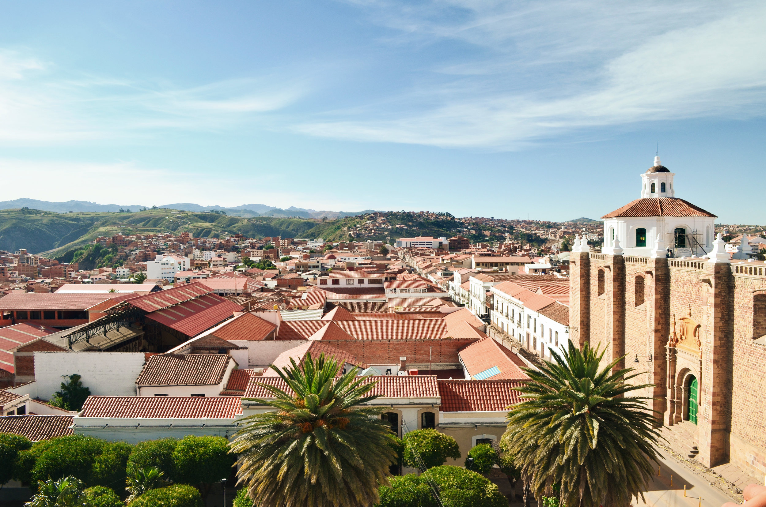 The white city of Sucre