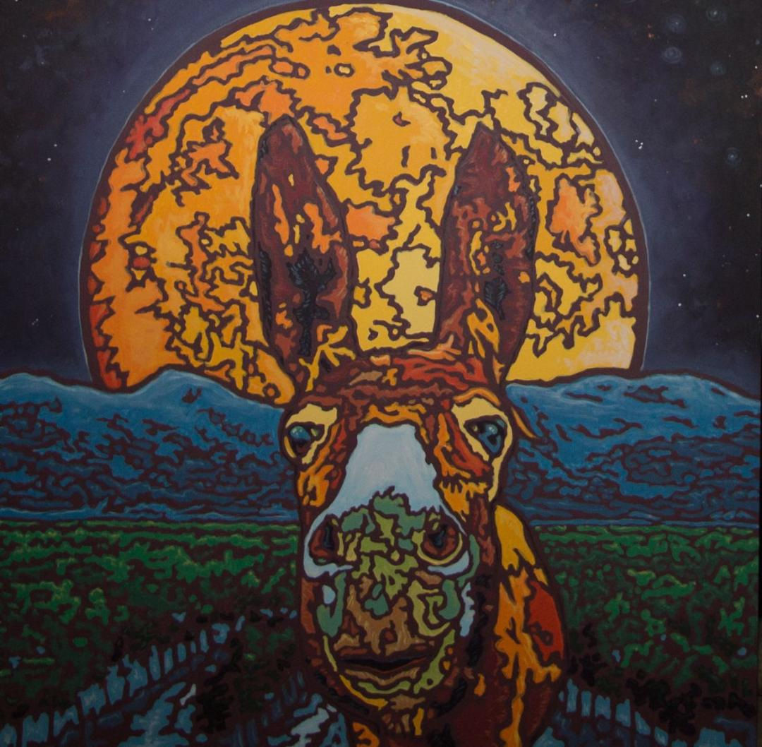 Harvest Mule, 2018, by William Callnan III