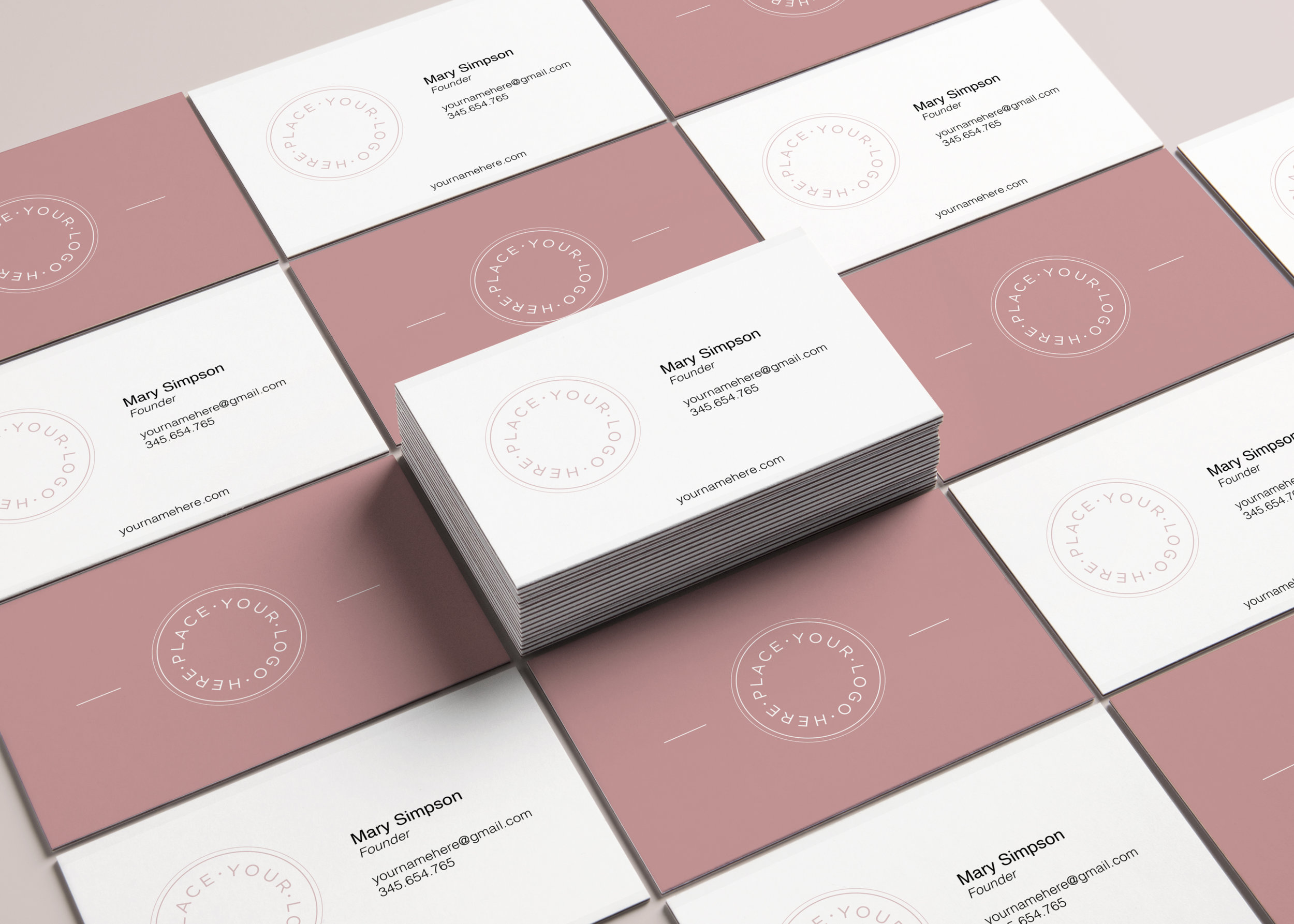 Free Business Card Editable Download