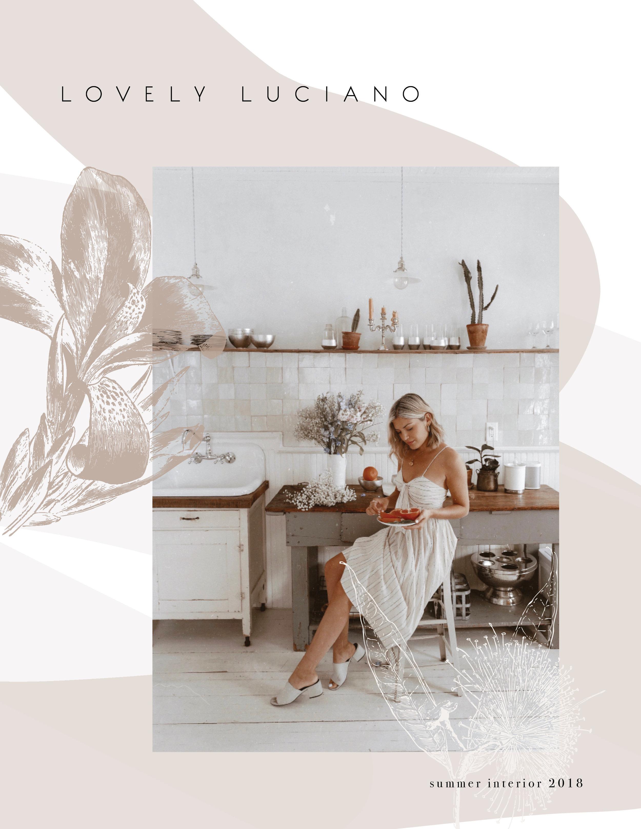 lookbook layout design catalog