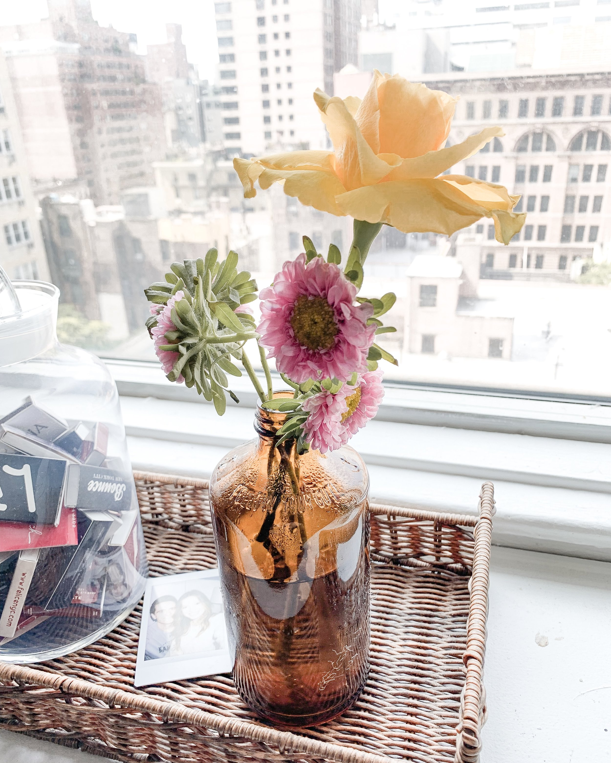 Modern Farmhouse DIY Project: Recycled Vase