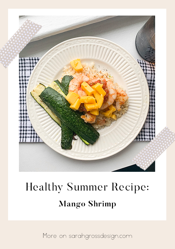 Easy healthy dinner recipes quick shrimp mango  pinterest.jpg