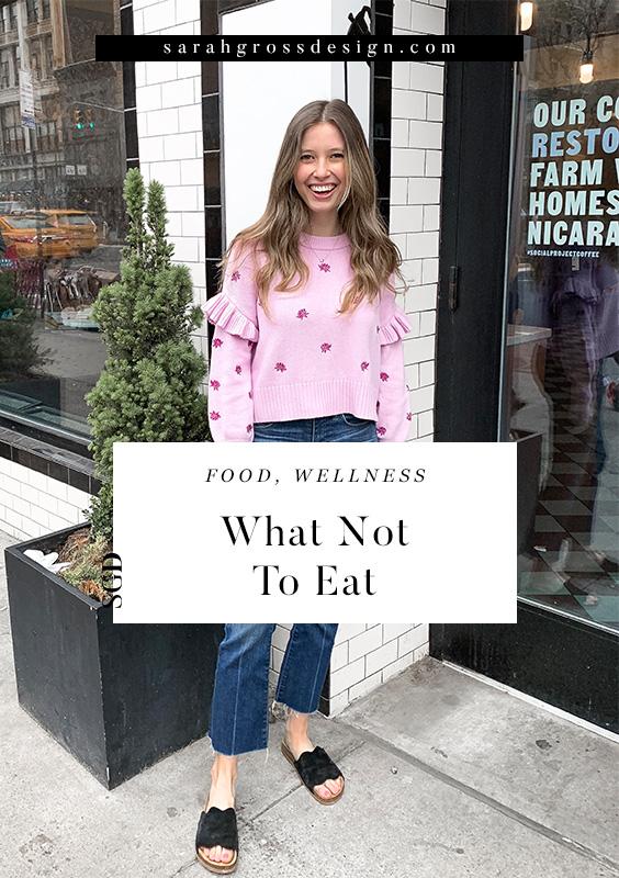 healthy eating for beginners sarah gross design