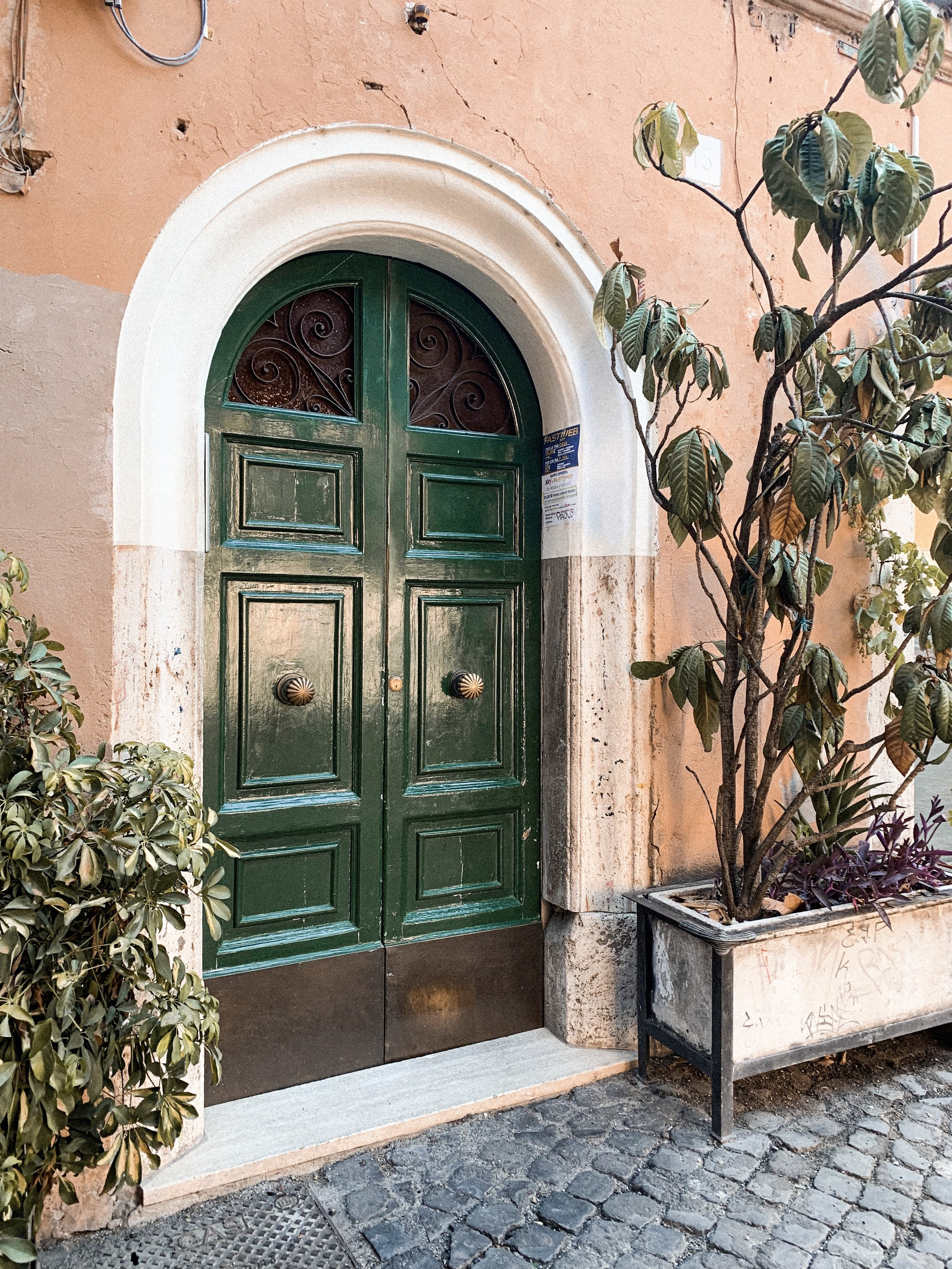 Cute corner in Trastevere.