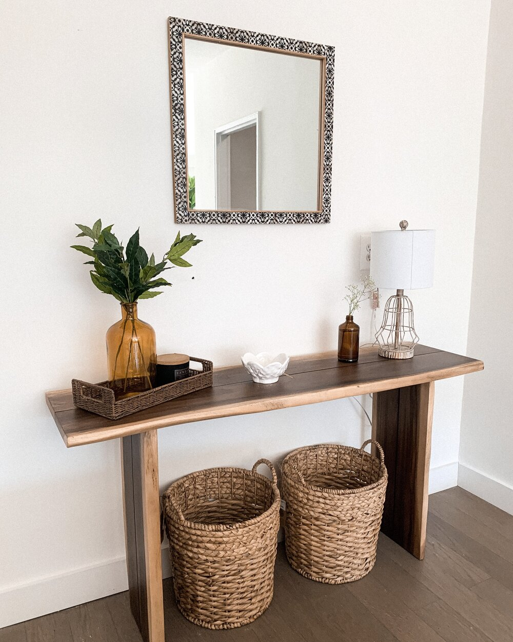 Styling My Small Space Farmhouse Entry Way Sarah Gross Design
