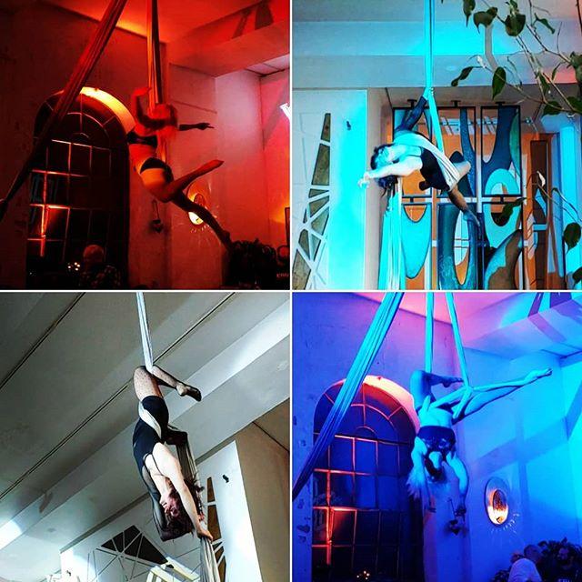 A few snaps of last nights @hrvstlabs soiree @invisiblecity ! We had a blast adding a little ambience to this event 🚀🌈 #hrvstlabs #soiree #hrvst #invisiblecity #rainbowmilitia #rainbowlove #rainbowpicoftheday #aerial #aerialistsofig #aerialdance #sling #aerialsling #silks #aerialsilks #circus #circusarts