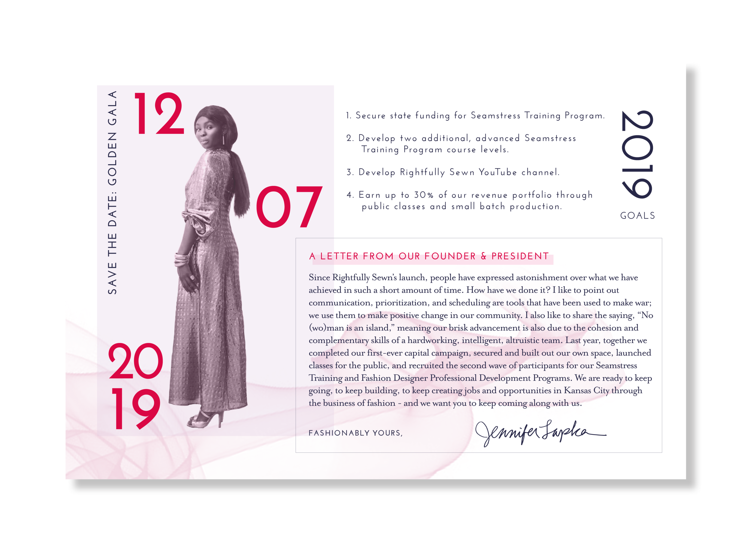 2018 ANNUAL REPORT INSPIRED BY THE SUCCESS OF THE ATELIER CAMPAIGN