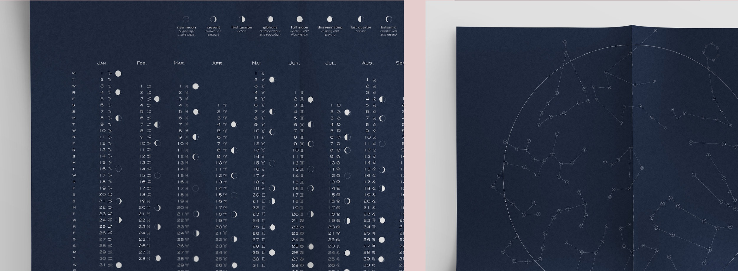 Intricate astrological Illustrations to adorn a book and poster about the complex science of the zodiac.