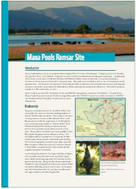 Ramsar Mana pools factsheet thumbnail