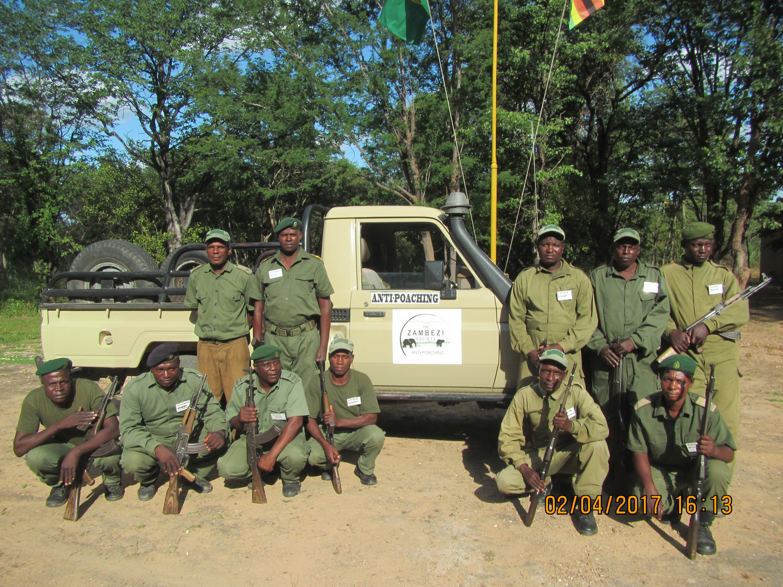 Zamsoc vehicle with rangers.jpg