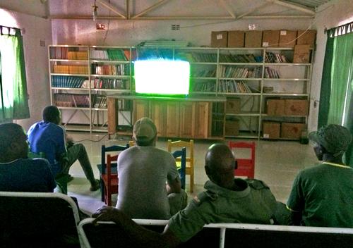 Kwese TV at Mana Pools.jpg