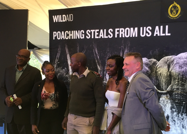 Poaching Steals from us all partnership, with Danai Gurira and Rumbidzai Takawira, & Peter Knights.jpg