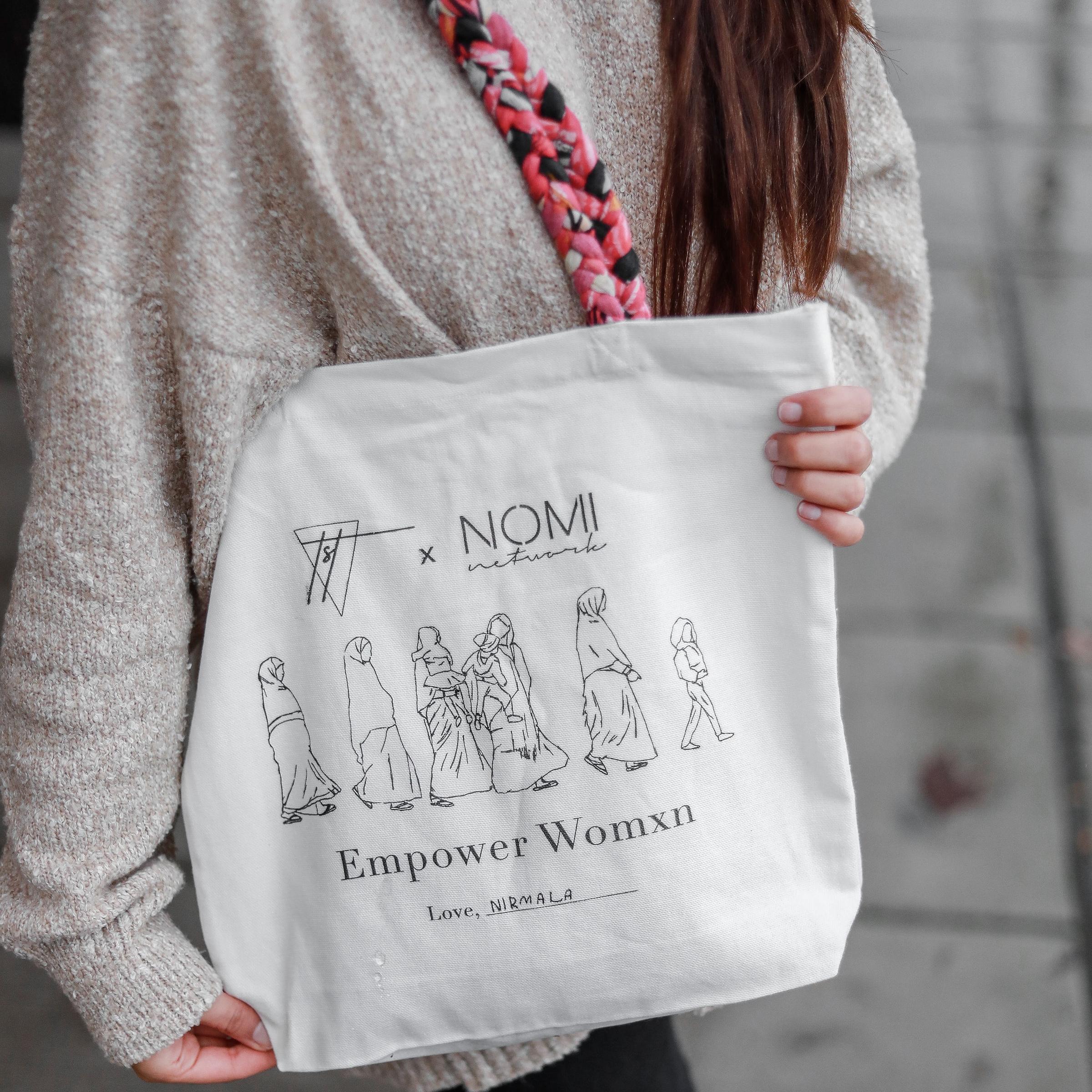 Empower Womxn Tote by Nomi Network x Sanaya Set