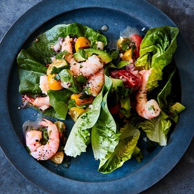 Y'all, @nytcooking has published 3 of my recipes! 🎉Including this simple, fresh shrimp and avocado salad in citrus vinaigrette. 🦐🥗🍋🥑I'm truly honored to be in this epic collection, and hope these dishes are the first of many. Thanks so much for sharing, @juliamoskin ! 🙌🏽 Link in story. ( Photo: @romuloyanesphotography | Styling: @vivianhlui ) #cocinacriolla #puertoricanfood #comidaboricua #nom #foodstagram