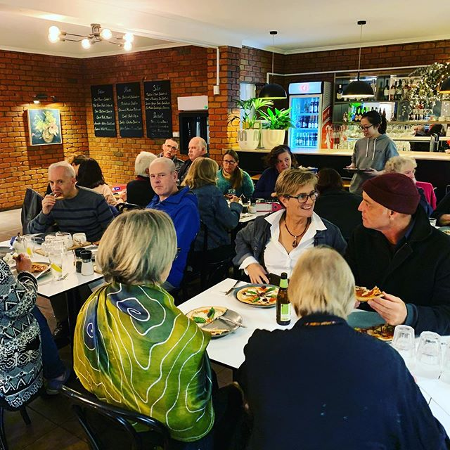 Meet the Candidate Dinner for Local Greens Candidate Human Rights Lawyer Simon Northeast from Angelsea-Geelong.. still time to join us for pizza and Shiraz @ilukamotelrestaurant #thegreens #ilukamotelrestaurant #otwayrainforest #otways