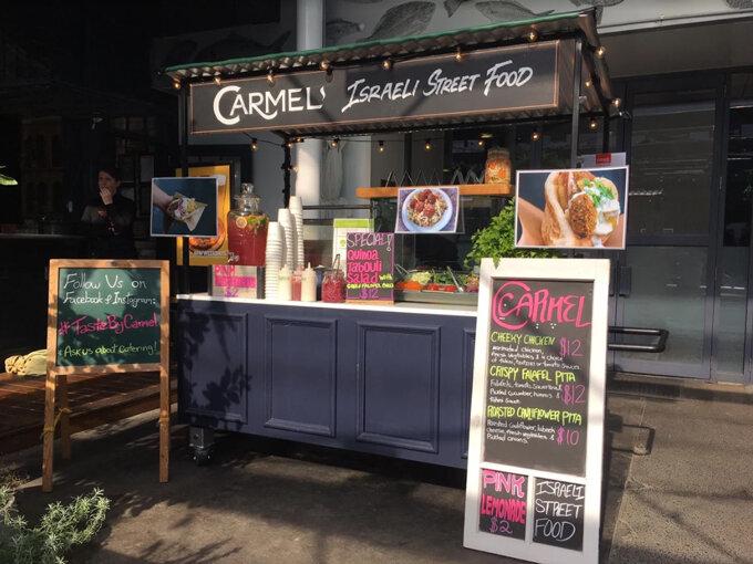 Carmel one of Auckland's 6 best food trucks