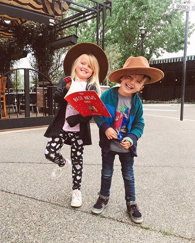 We have the cutest readers! 🌟💗 tag us in your photos for a chance to be featured! . . . . #bookstagram #children #cute #kids #bestnewsever #jesus