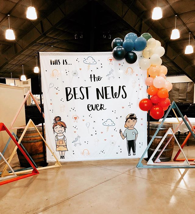 We love seeing The Best News Ever at Mountainbrook's annual kids camp this year! 🤩 do you want to set up a booth at your church? DM us! #kidscamp #bestnews #jesus #books #kids #camp #childrensbooks