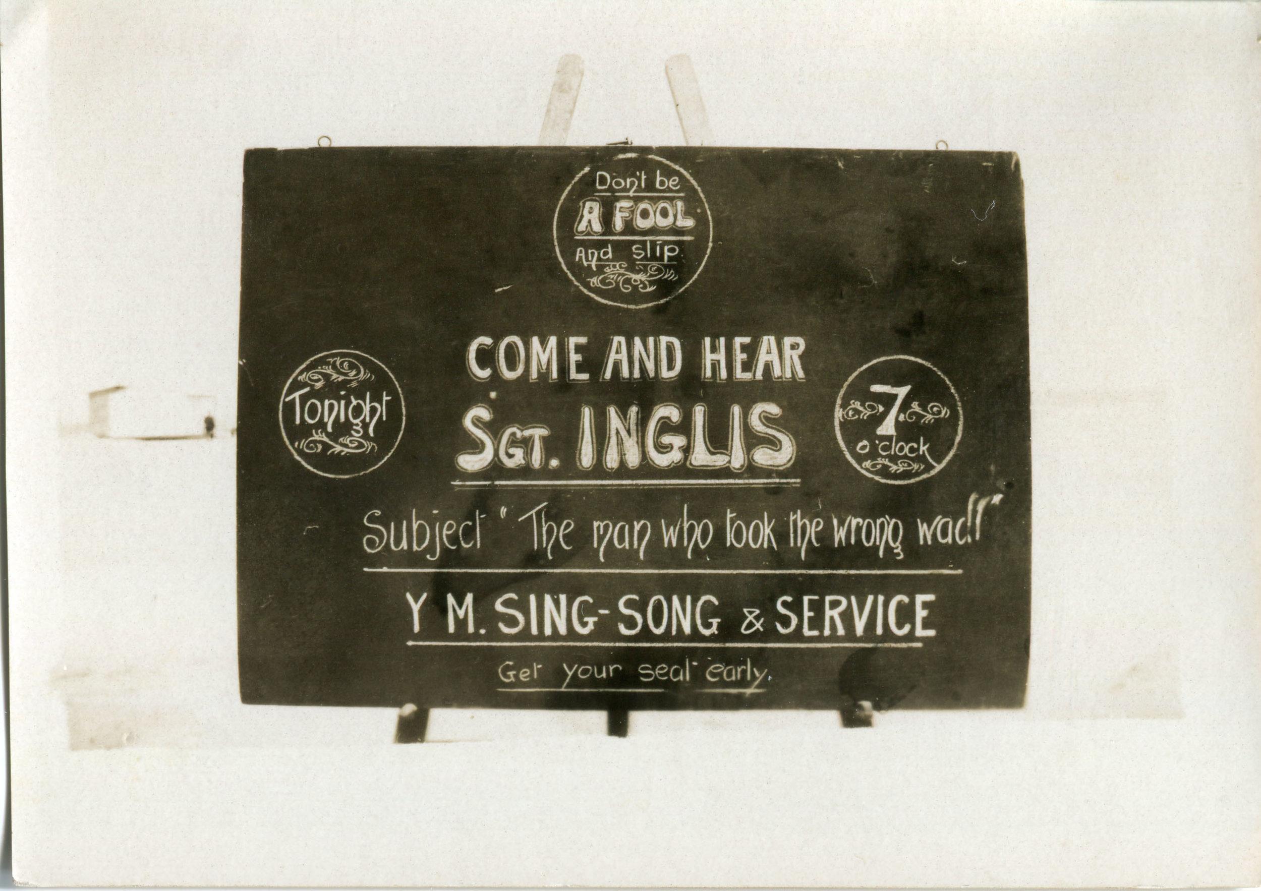 reg walters075 YMCA singsong and service featuring Sergeant Inglis.jpg