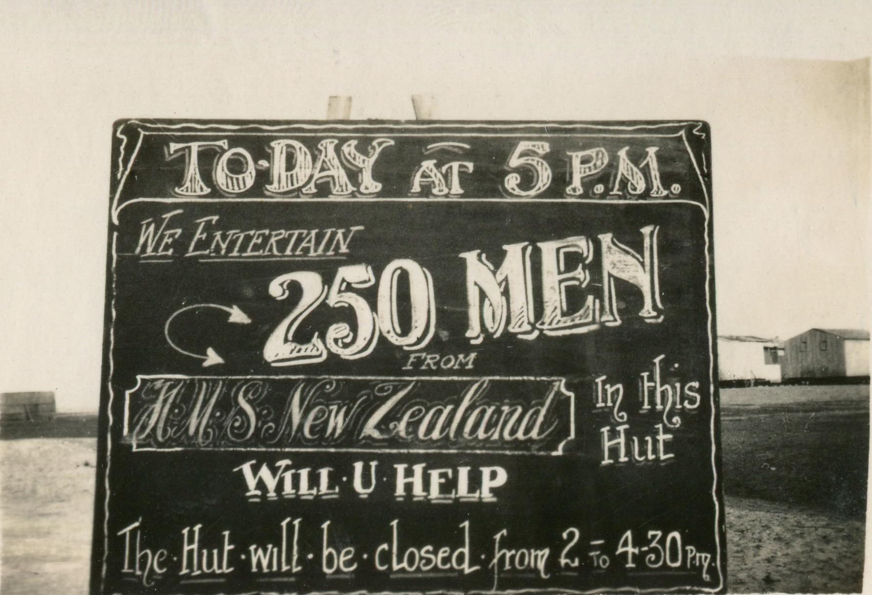 reg walters086 Entertaining 250 men from HMS New Zealand.jpg