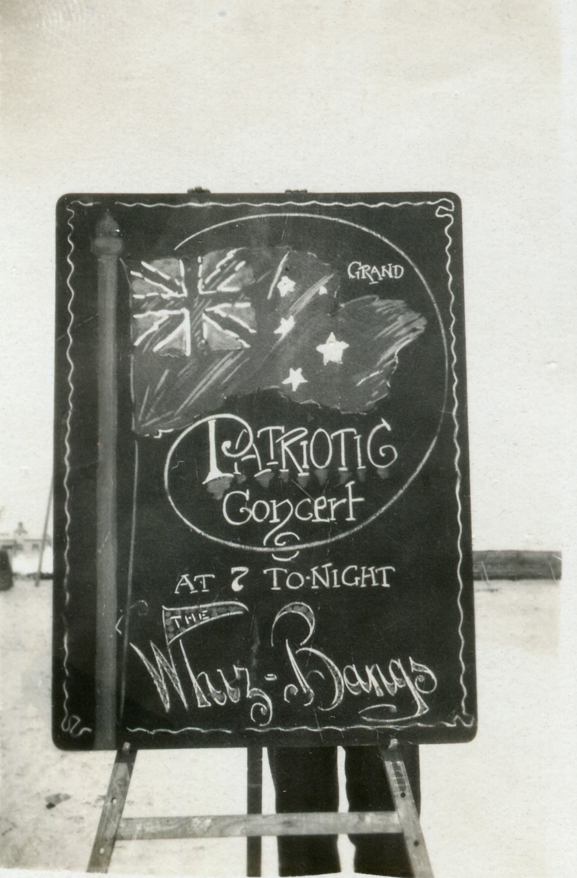 Grand Patriotic Concert by the Whiz Bangs, date unknown