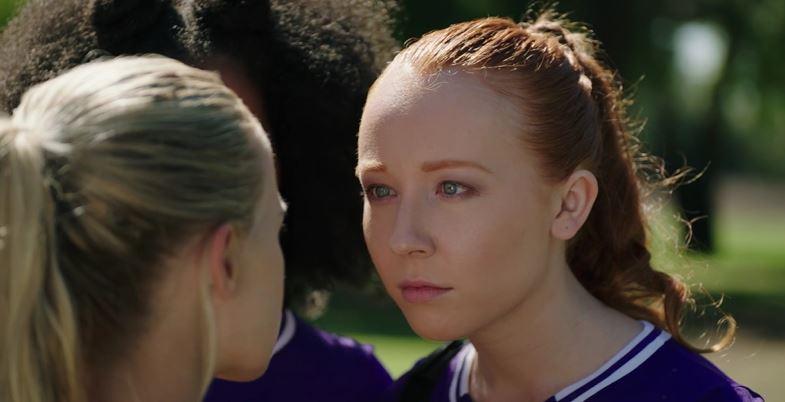 GLENNELLEN ANDERSON as Brooke, a baddie high school lacrosse player, in AwesomenessTV's GO90 series, Versus. -