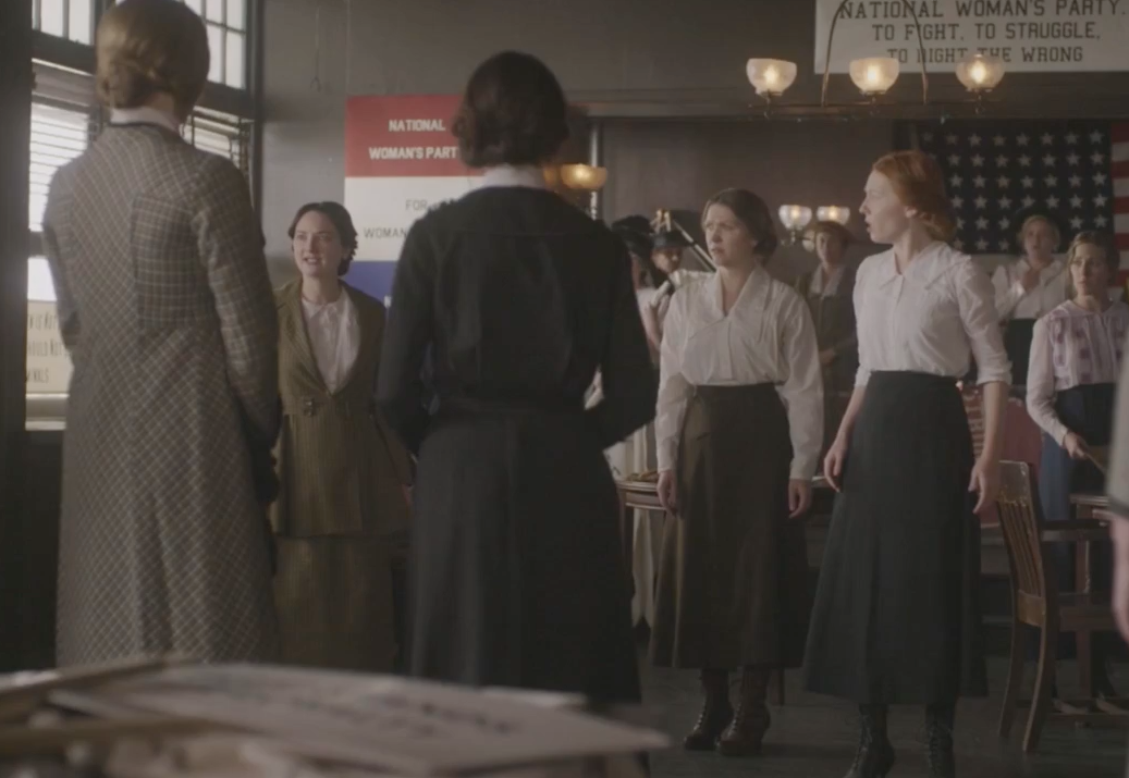 GLENNELLEN ANDERSON guest stars as Jane, a young 1919 suffragette, on NBC's     Timeless     .