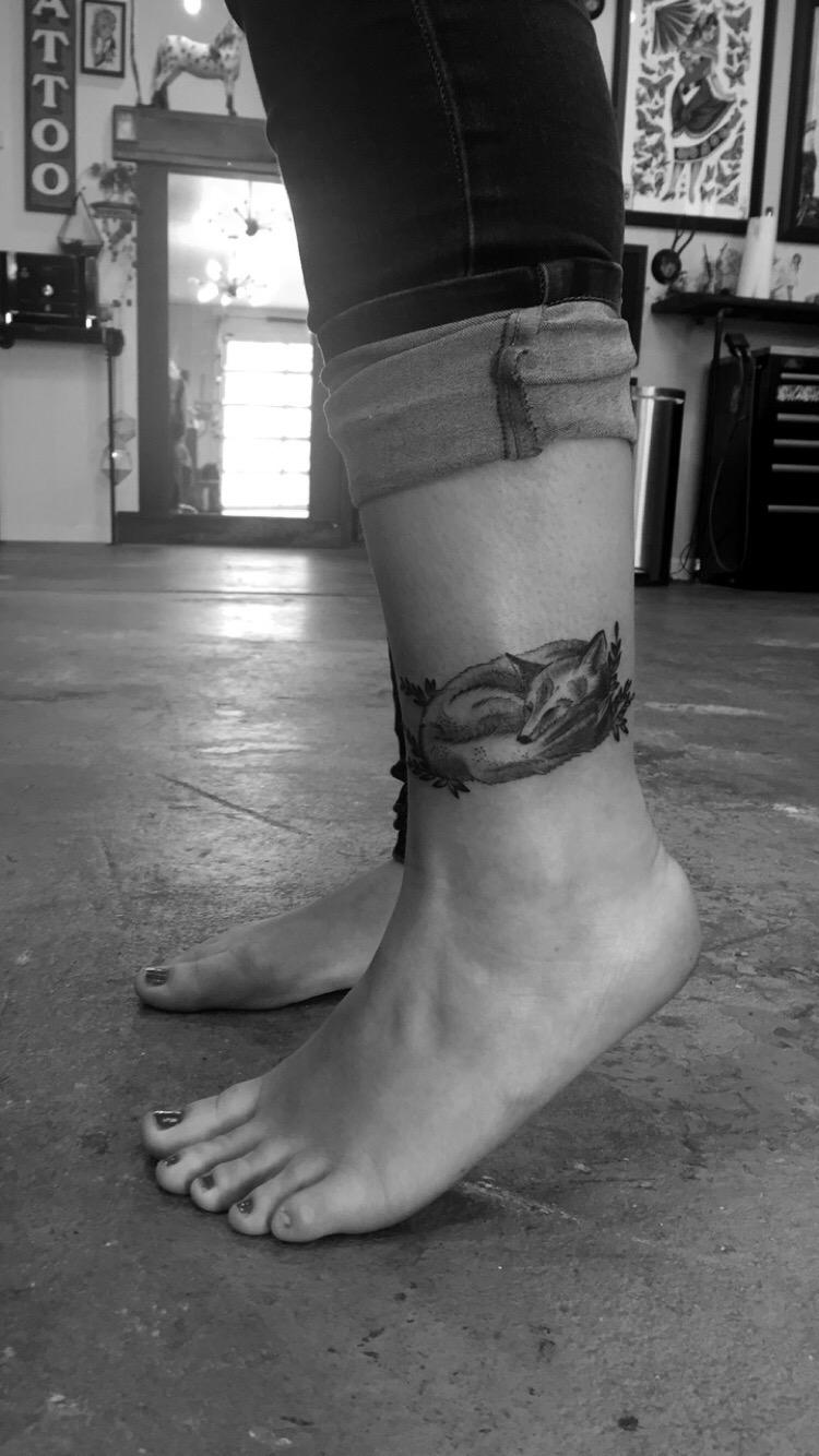Fox Tattoo Jake Diamond, Ritual Tattoo Denver