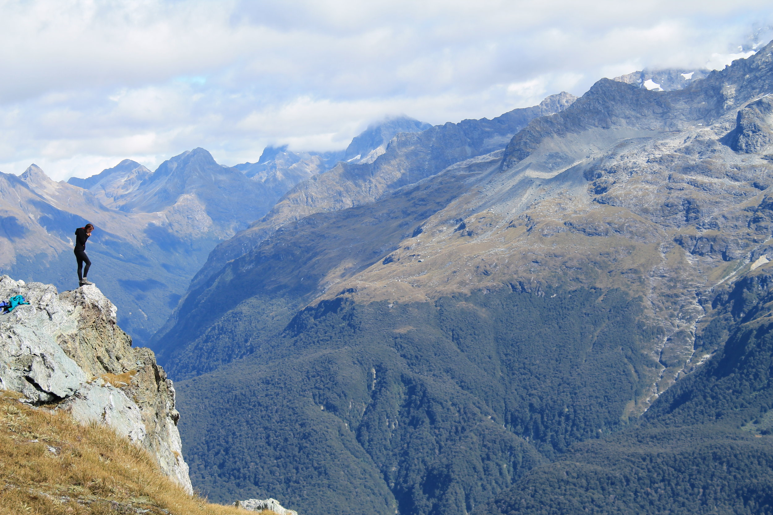 Routeburn track, Conical Hill, New Zealand