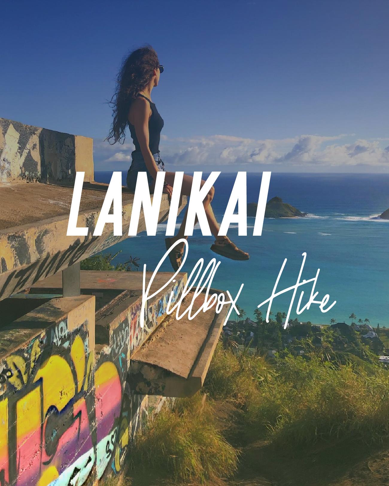 Lanikai Pillbox Hike, Oahu Hawaii
