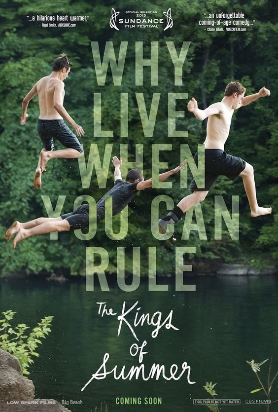 The Kings of Summer Adventure Movies to Watch