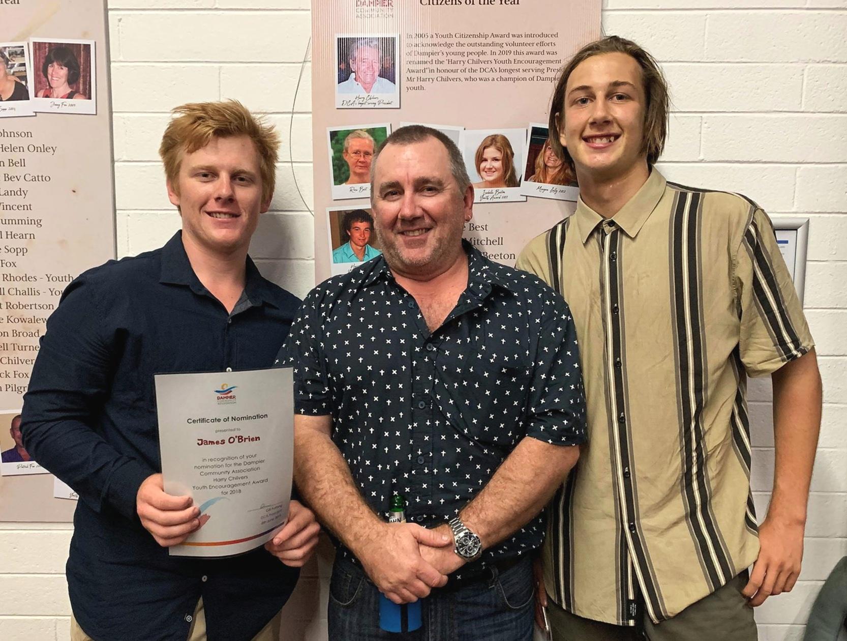 Jimmy, Gavin & Marcus O'Brien