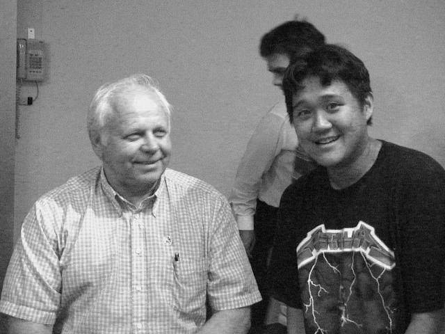 2000: Erik (left) and Phil (right)
