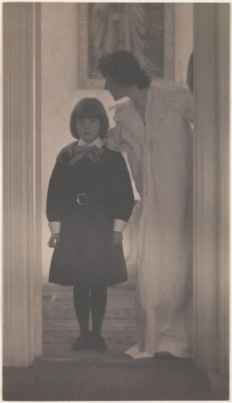Blessed Art Thou among Women   Gertrude Käsebier (American); Date: 1899 Medium: Platinum print; Metropolitan Museum of Art