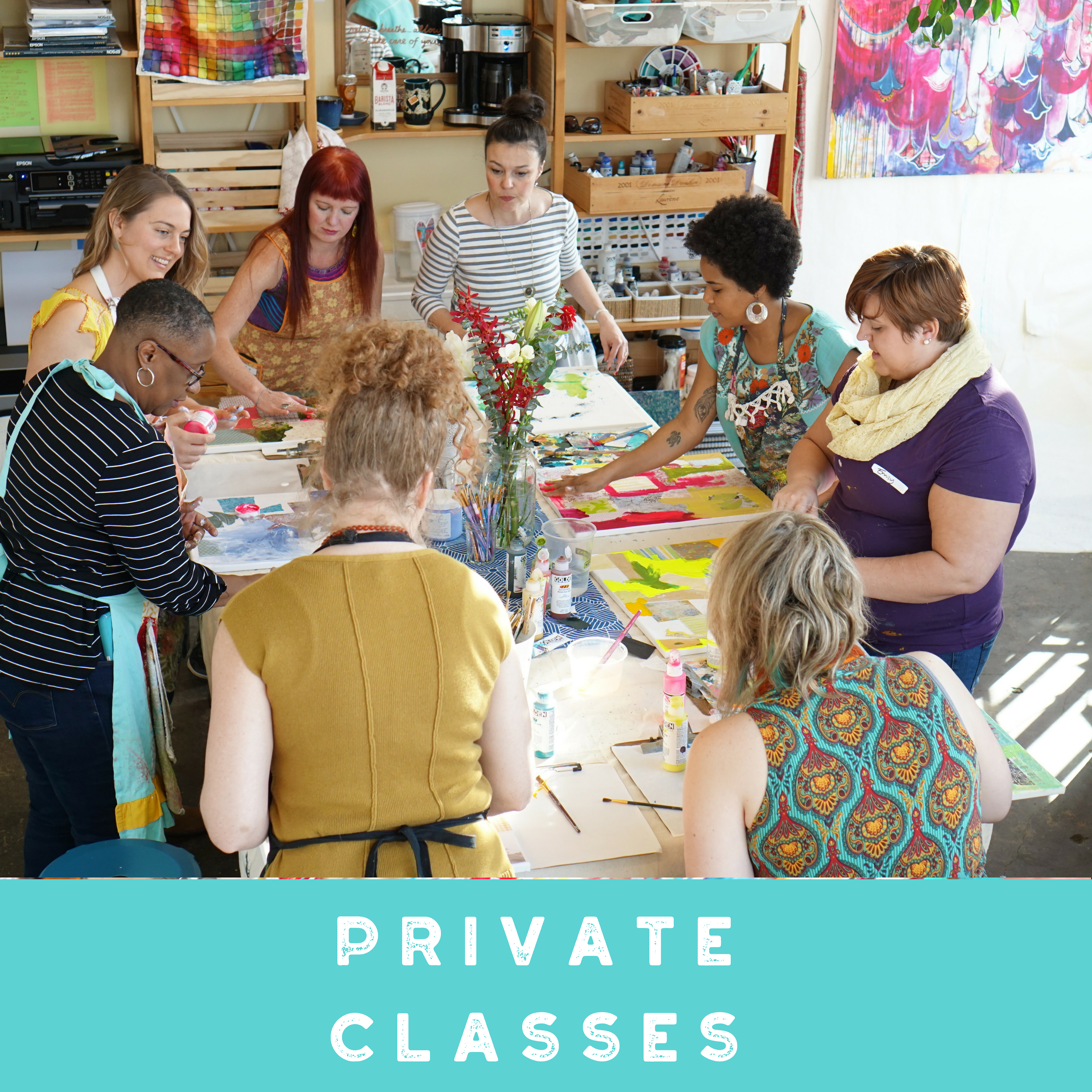 Annamieka Davidsion Private Art Classes