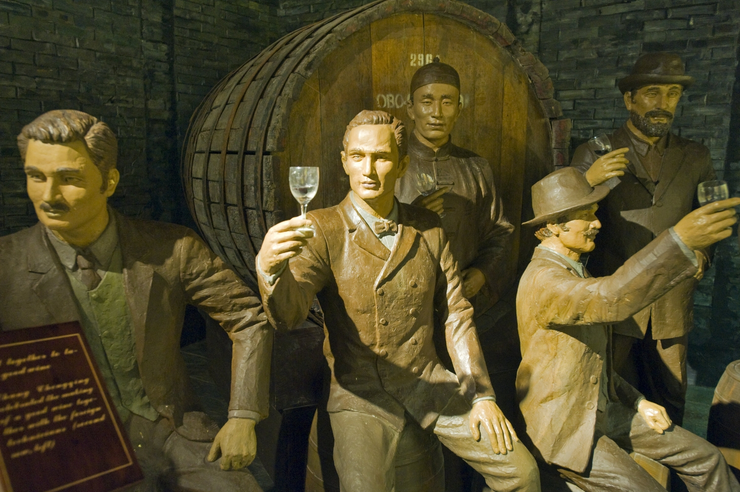 History buffs can check out the Chinese wine history museum.
