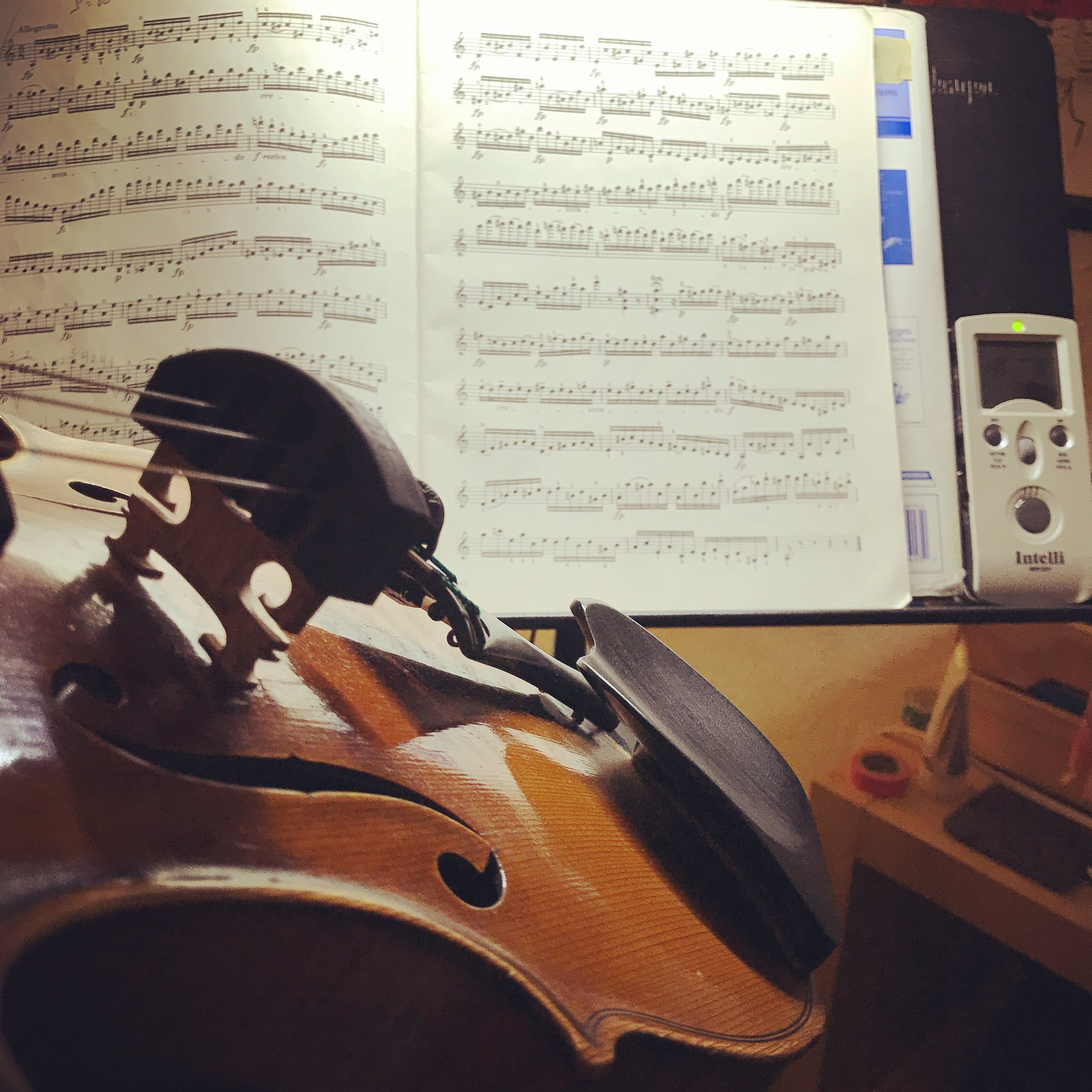 Late night practice IS possible in small doses.