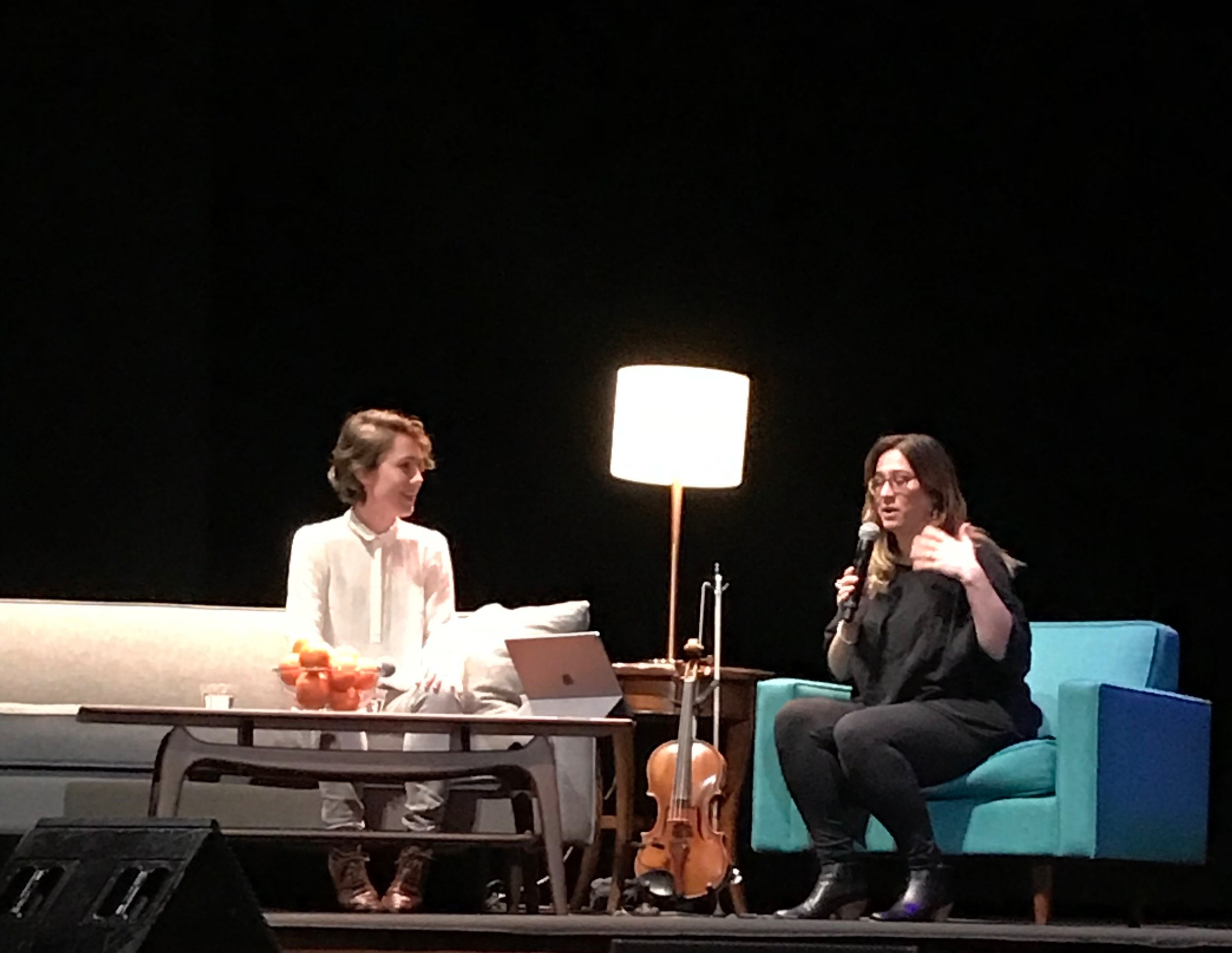 Living Music - Caroline Shaw & Nadia Sirota in conversation.