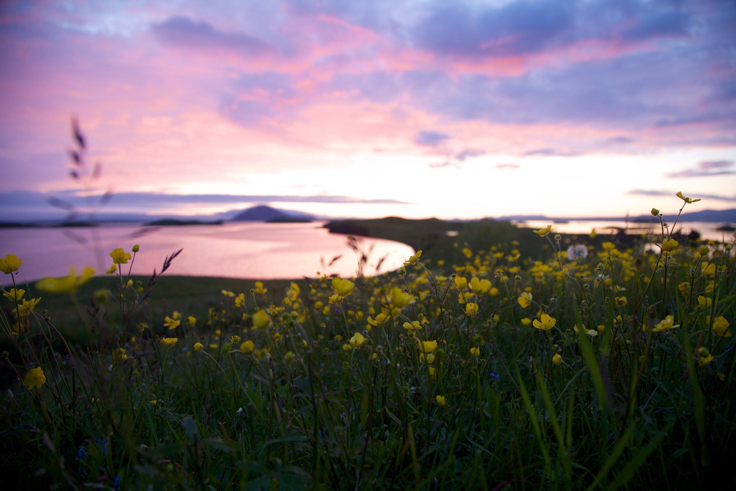 Icelandic sunset - 24-105 on Canon 5D MkII