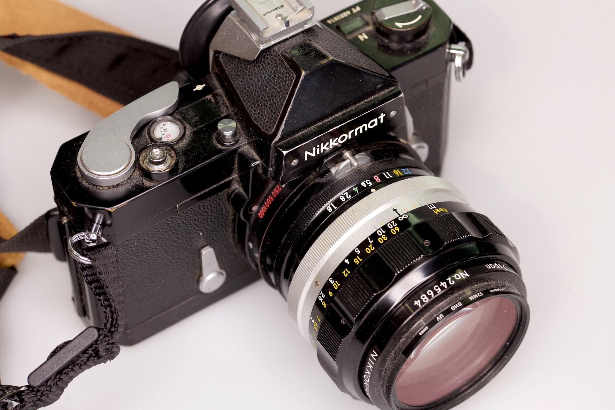 A kindler, gentler camera with my favorite lens.