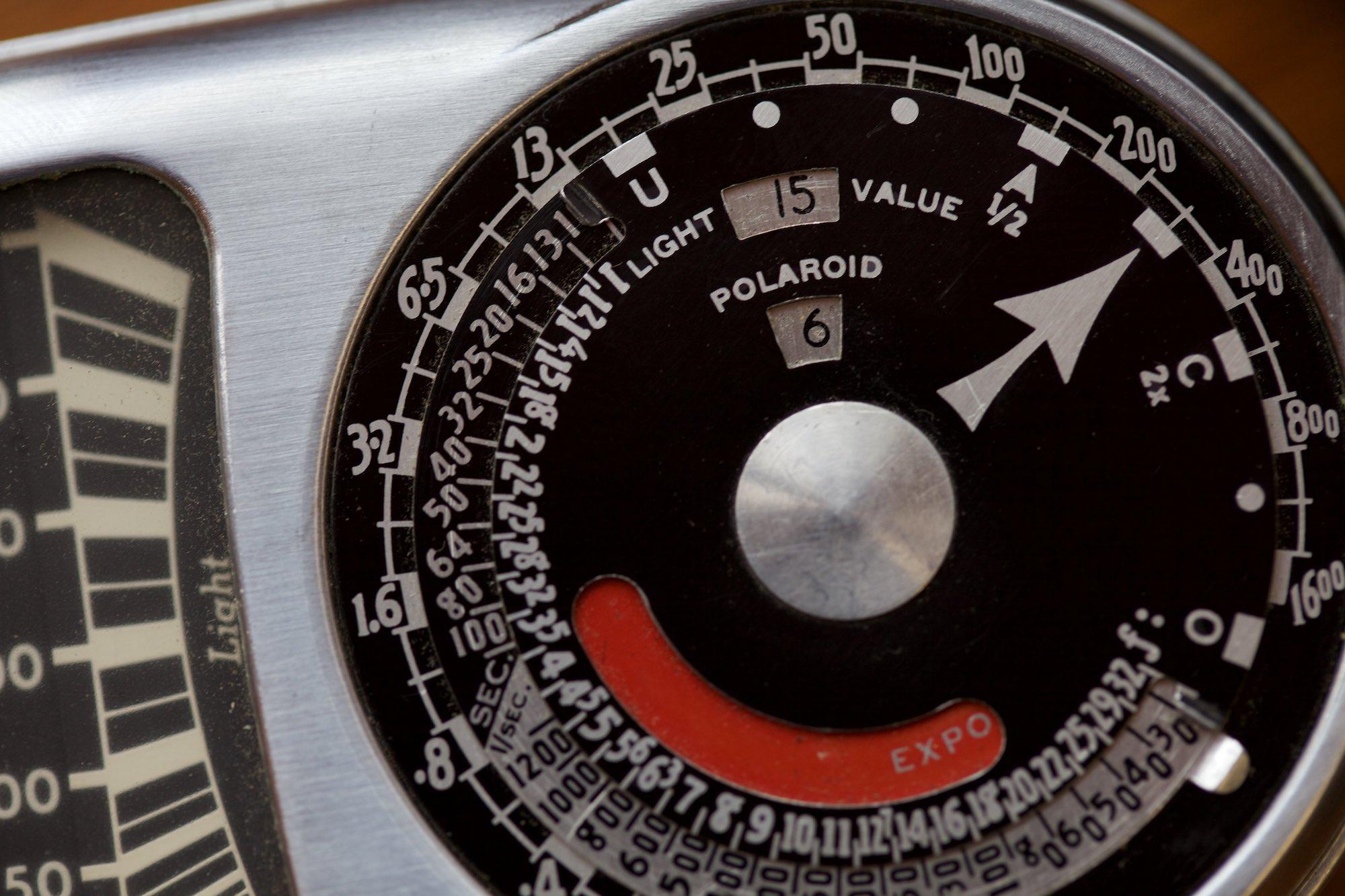 Weston exposure meter from 1950's