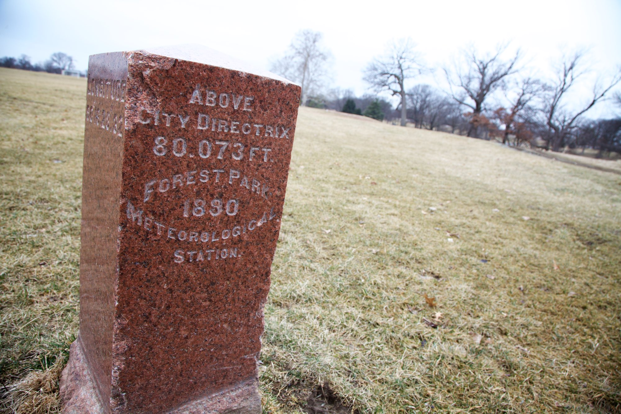 The second oldest man-made artifact in Forest Park (that we know of)