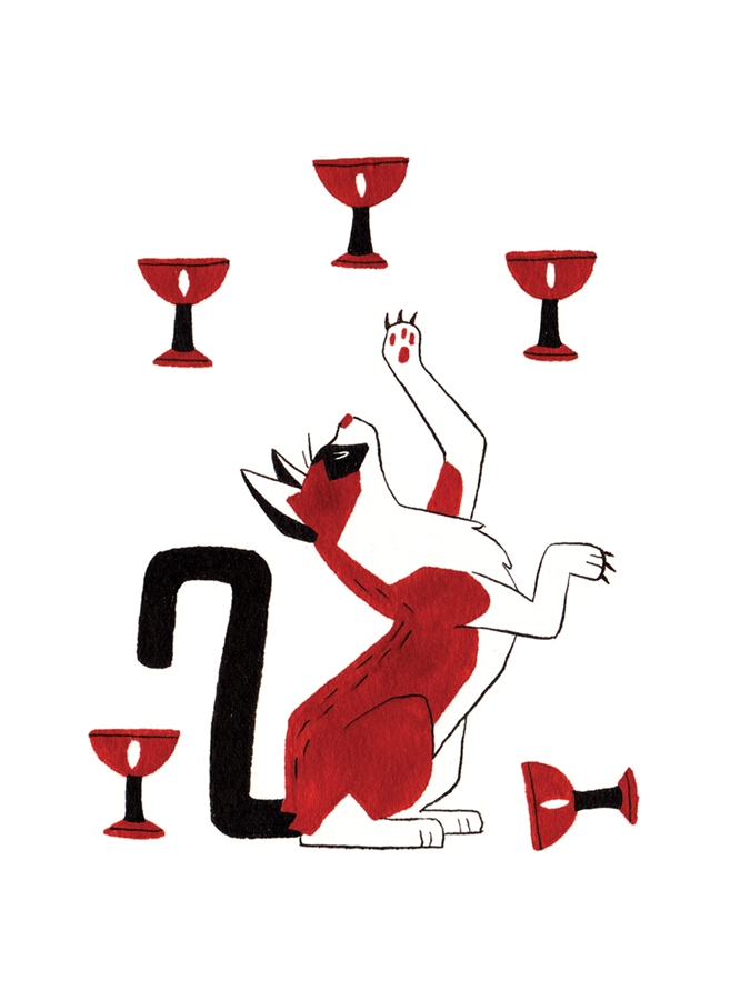 Five of Cups - Upright: Difficult Loss, Self Pity, regretReversed: Hope, Renewed Faith in Self, End of Hard Times