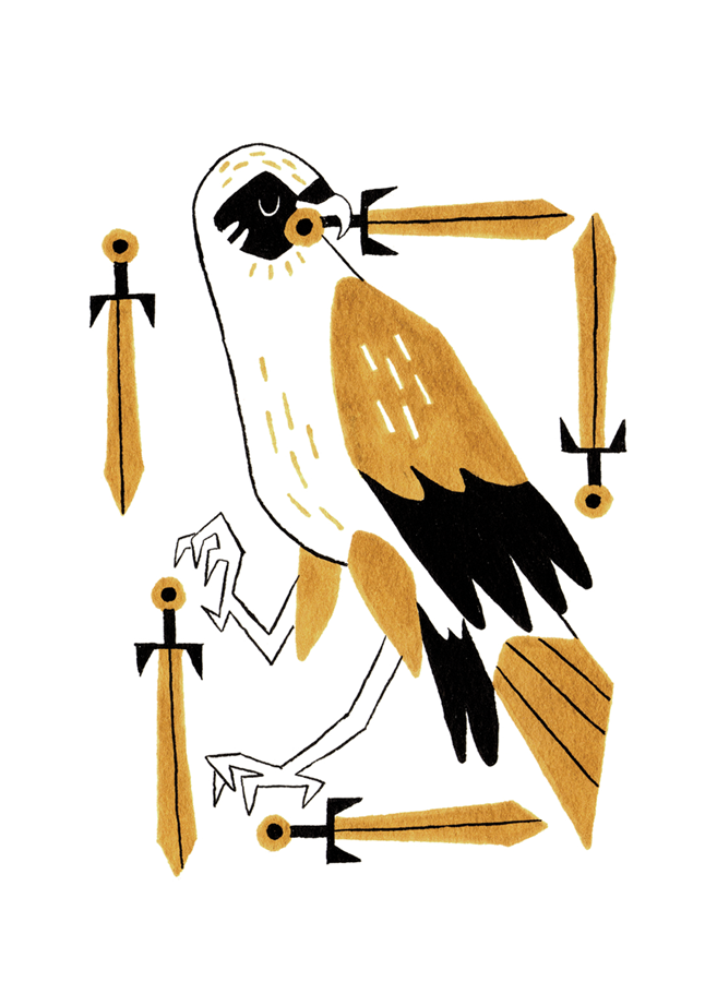 Five of Swords - Upright: Hollow Victory, Hungry for Power, DefeatReversed: Persistent Conflict, Raw Emotion, Openness to Change
