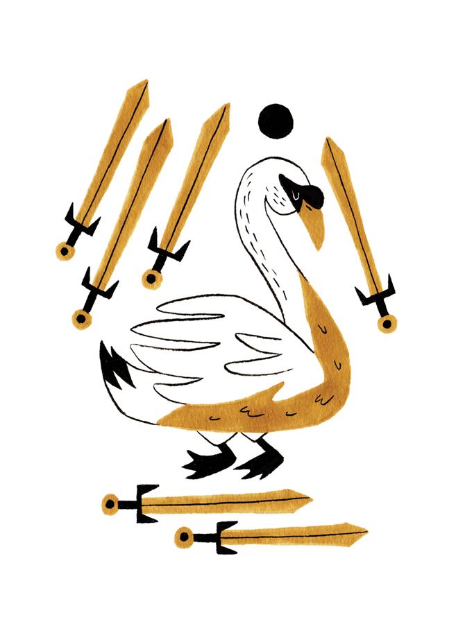 Six of Swords - Upright: Moving On, Healing, TravelReversed: Stagnation, Struggle, Inability to Progress